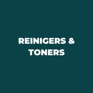 Reiniging & Toners